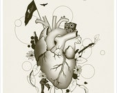 I Love Design - Illustration Art Print