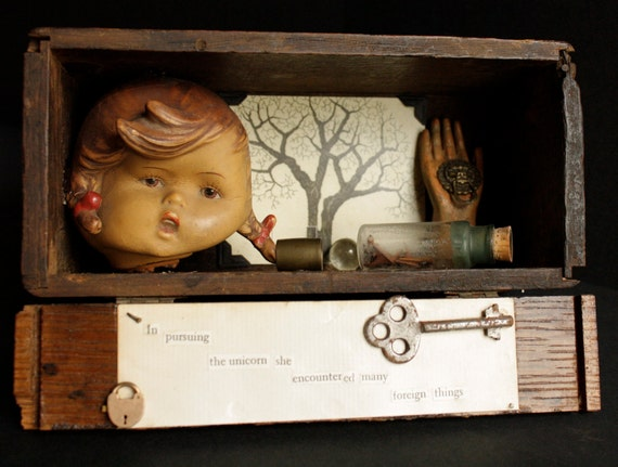 Original Assemblage Shadow Box