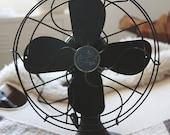 Vintage Industrial Emerson Fan- Working