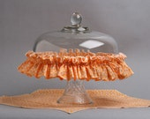 Zesty Orange Basket Garter