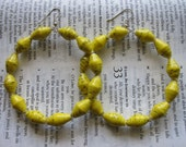 daffodil large hoops