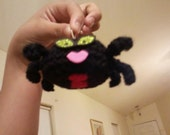 Crochet Spider / Oh Oh watch out... Lil Chubby Spiderena is on the prowl...