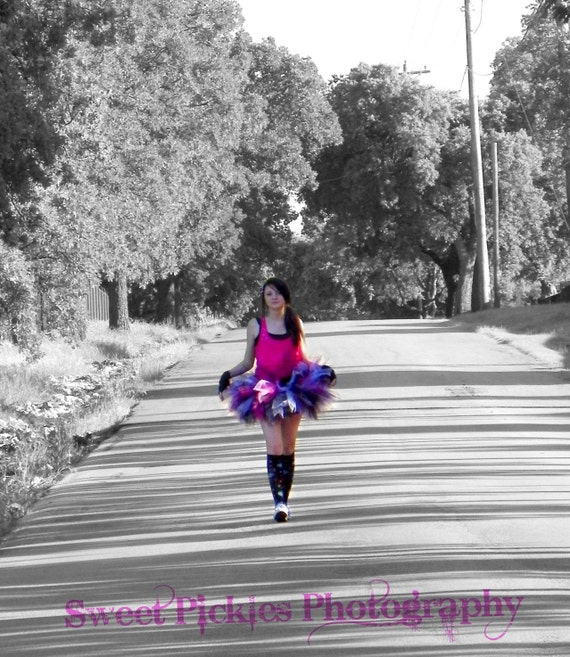 Teen Punk Rock Short Tutu - Design Your Own - Raves - Dances