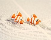 Clownfish Under the Sea Collection Earrings