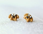 Jake Adventure Time Earrings