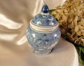 Small Blue & White Urn