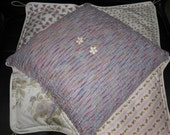 Decorative Pillow Accessory Reverse Flaps with 4 Different Prints
