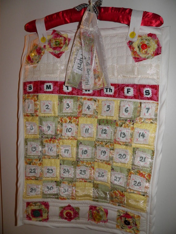Quilted Perpetual/Forever Calendar