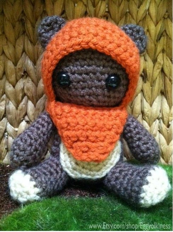 Crochet Wicket the Ewok Star Wars Amigurumi