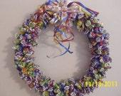 Bubble Gum Wreath