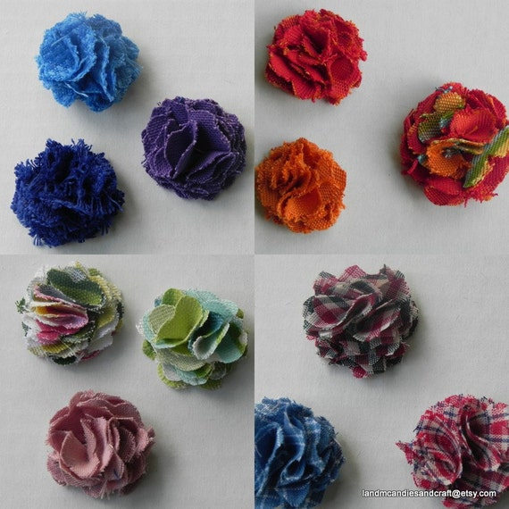 Pick your 3  Any three lapel flowers you choose. Fabric and Crochet lapel flowers. mens