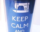 Keep Calm and Sew On: Insulated Traveler Tumbler