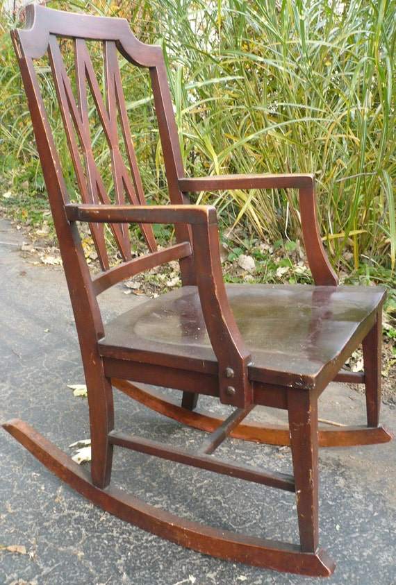 Ford Johnson Rocking Chair Reduced Price By Casakarmadecor