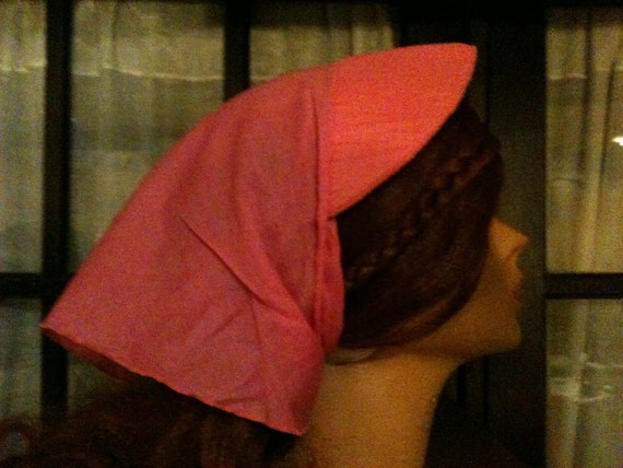 Vintage Pink Bandana