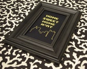 "Pittsburgh Cross Stitch Pattern PDF - ""Home Sweet Home N'at"""