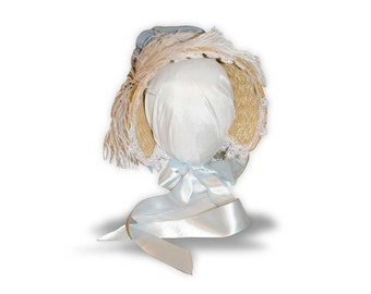Choose your color Austentation Jane Austen Regency Cottage Bonnet: Jane