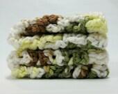 Handmade Original Crocheted Dishcloths or Pot Holders - Set of Two - Towels 'N Things