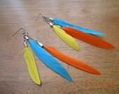 Delightful Feather Earrings