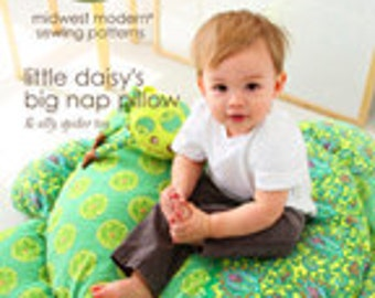 Amy Butler Sewing Pattern,  Little Daisey's Big Nap Pillow Sewing Pattern