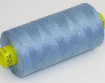 Sewing Thread, Blue 143  Gutermann Superior Sewing Thread on 1094 Yard Spool