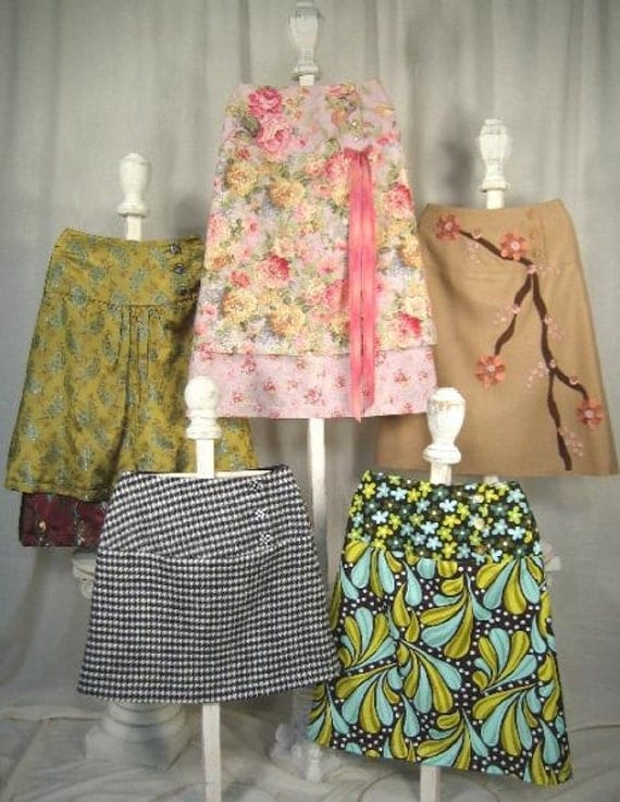 The Bella Skirt Sewing Pattern by Kay Whitt for Serendipity Studios