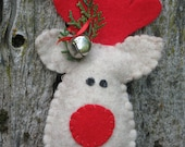 Reindeer Ornament includes FREE shipping