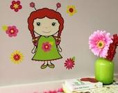Flower Belle Wall Decals from Magic Belles (not vinyl)