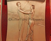Dancing Couple Scroll Photo by Kellee Fabre Photography size 8x10
