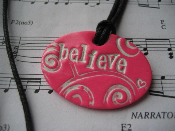 Believe in Pink Necklace