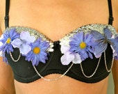 Purple Chains Daisy bra