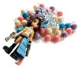 Yuna Final Fantasy Necklace, FF10 Beaded Kawaii