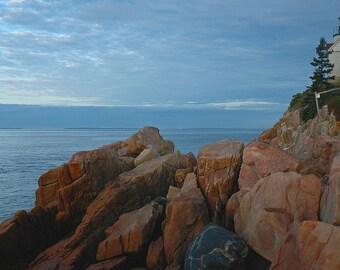 Maine Lighthouse Photography Landscape Acadia Bass Harbor