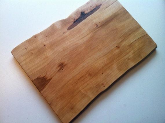 Maple Wood Organic Handmade Cutting Chopping Board, Made in New Brunswick, Canada