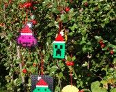 8-Bit Christmas Ornaments (Set of 4)