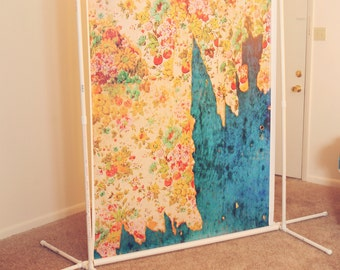 Adjustable Photography Backdrop Stand - Portable - Great for Newborn Photography or Portrait Photography or Photo Booth
