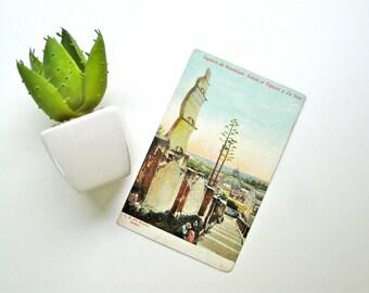 Mexico Postcard Vintage Republica Mexicana Tarjeta Postal Sagrario de Guadalupe Unused