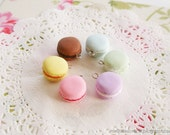 Pink Macaron Charm (RESERVED)