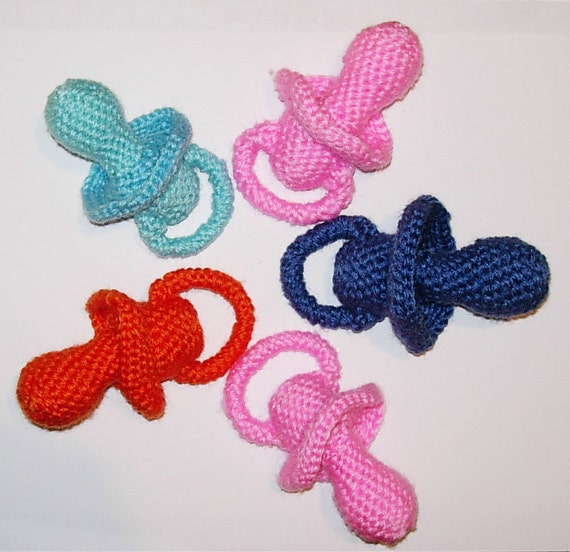 Items similar to Amigurumi Pacifier PDF Crochet Pattern on ...
