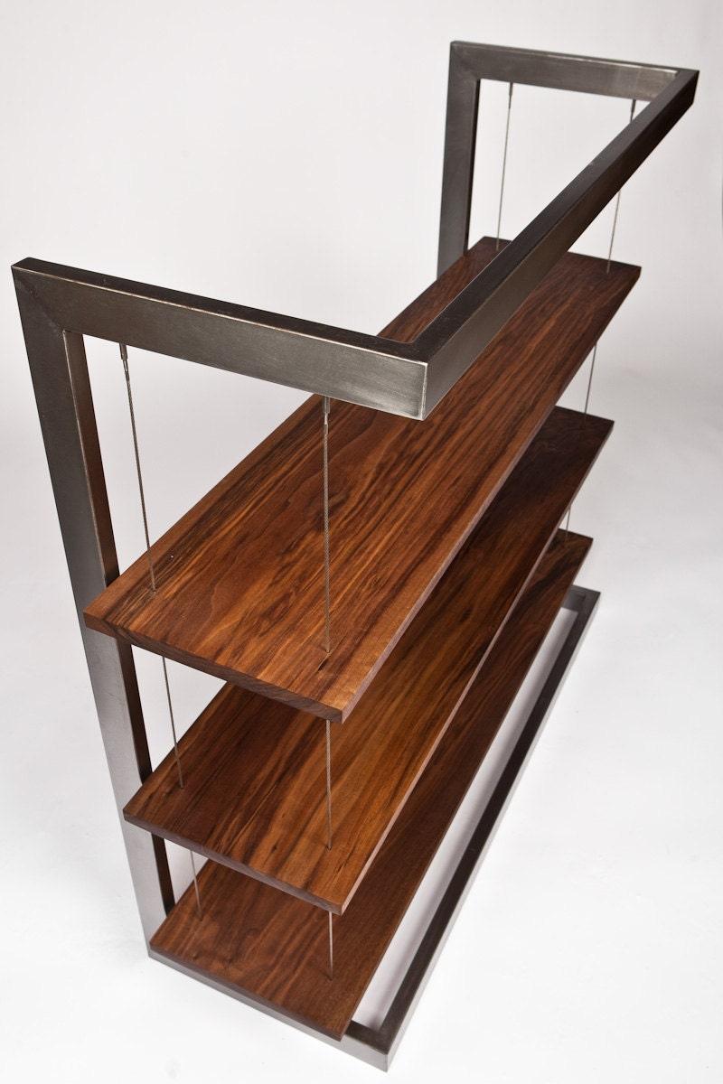 modern industrial suspended walnut by taylordonskerdesign. Black Bedroom Furniture Sets. Home Design Ideas