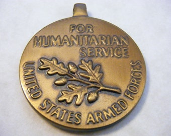 MEDAL United States Armed Forces for Humanitarian Service Military