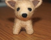 Custom Listing for Wendy 2 Tiny needle felted poodle puppies