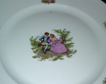 Courtship Plate by Cmielow
