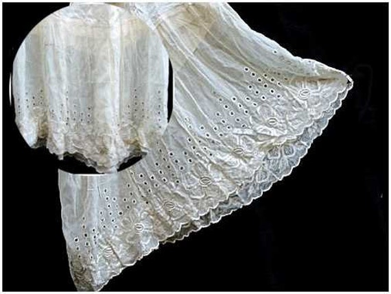 Edwardian Slip Petticoat 1920s 20s Absolutely Beautiful Lingerie LAYAWAY Available