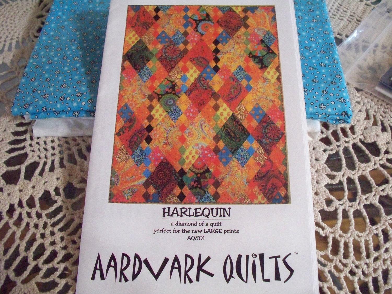 Aardvark Quilts Harlequin Quilt Pattern