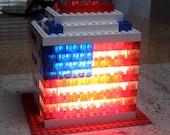 American Flag LED accent light