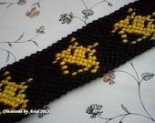 Space Invader Bracelet