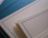 Reserved for Rose: Set of 25 Custom CD Sleeves Choose Your Paper and Thread