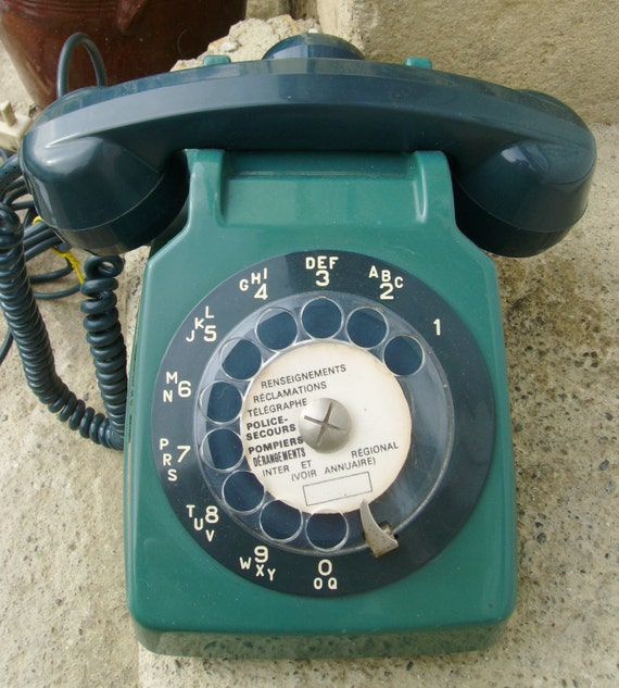 Vintage French telephone