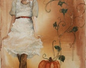 """Abstract Fairytale 12x16"""" Art Print """"Cinderella"""" by Jessica Brown"""