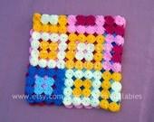 FUN. Crochet yo-yo blanket